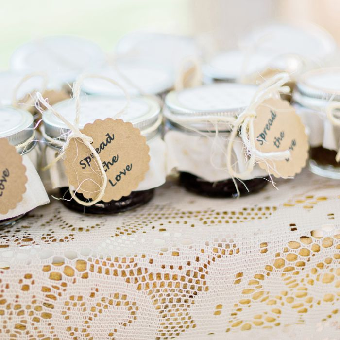 Our 5 favorite types of wedding favors weddingwire jar wedding favors junglespirit Gallery