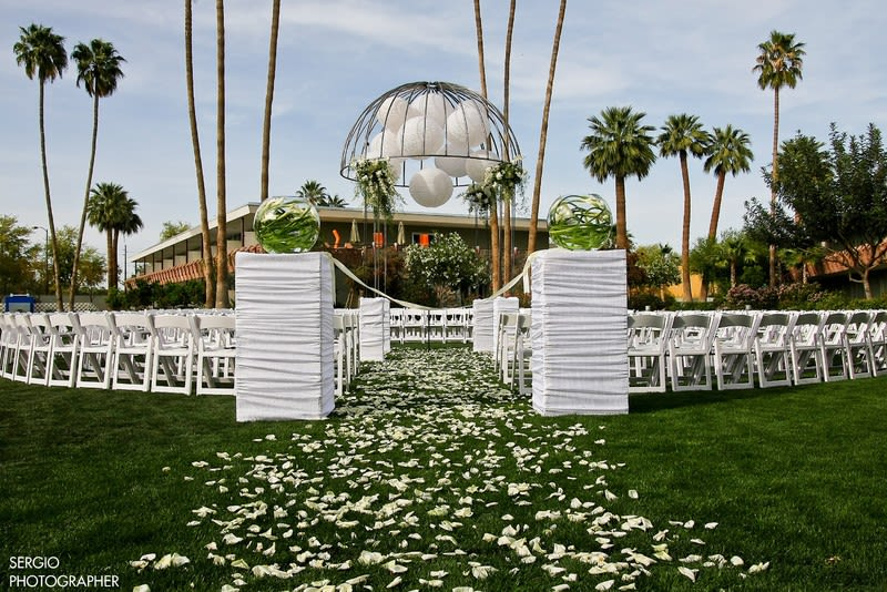 7 affordable wedding venues in phoenix youll love weddingwire photo hotel valley ho junglespirit Gallery