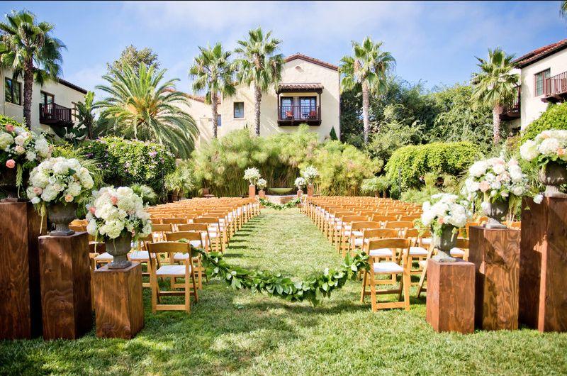 9 romantic garden wedding venues in san diego weddingwire estancia la jolla hotel spa junglespirit Gallery