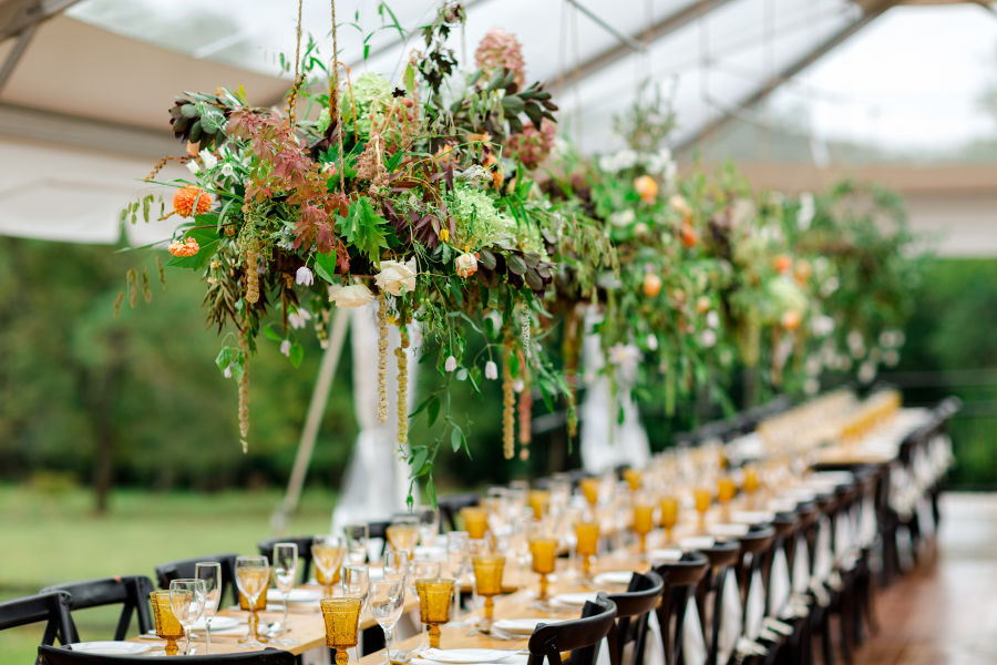 20 Hanging Centerpieces To Spice Up Your Ceiling