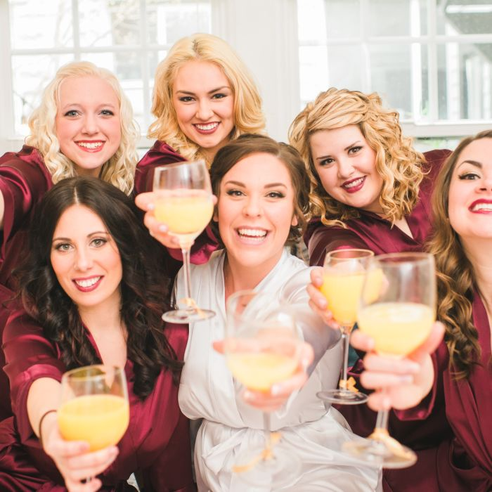 Bachelorette party game 21 questions weddingwire for Fun bachelorette party destinations
