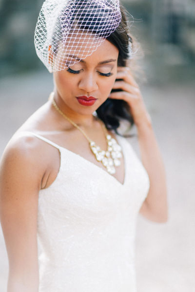 Every wedding veil style length explained weddingwire veil styles junglespirit Images
