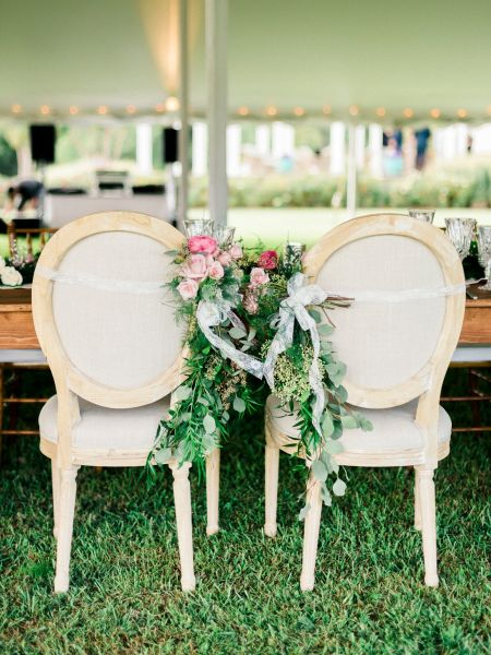 11 popular wedding chair styles weddingwire king louis xvi chairs garden wedding junglespirit Gallery