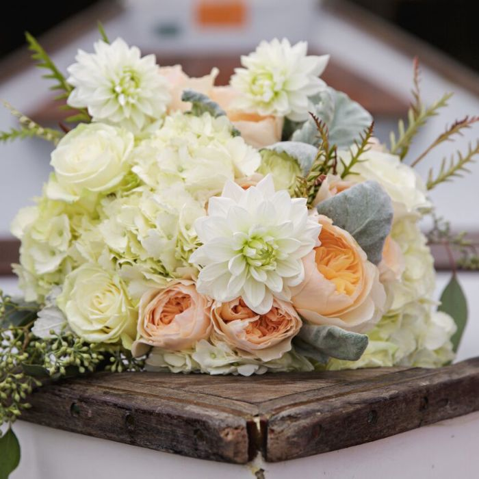 Why wedding flowers cost that much weddingwire pastel pink and white bouquet flowers junglespirit Gallery