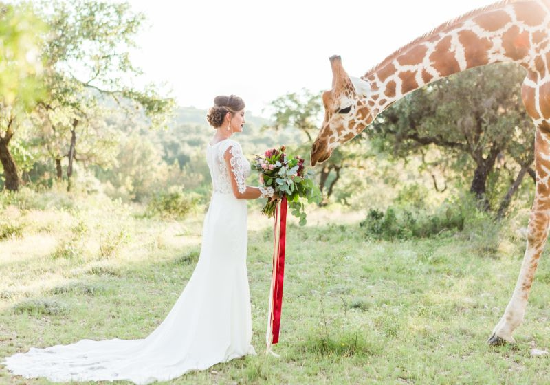 These Indoor Ceremony Backdrops Will Make You Pray For: Wedding Ideas