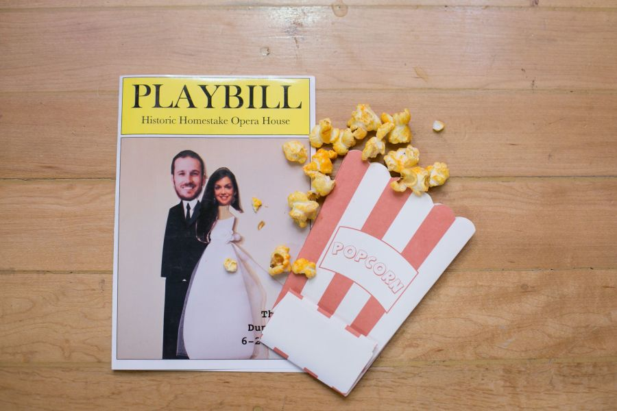 playbill ceremony program - joice ruffing photography