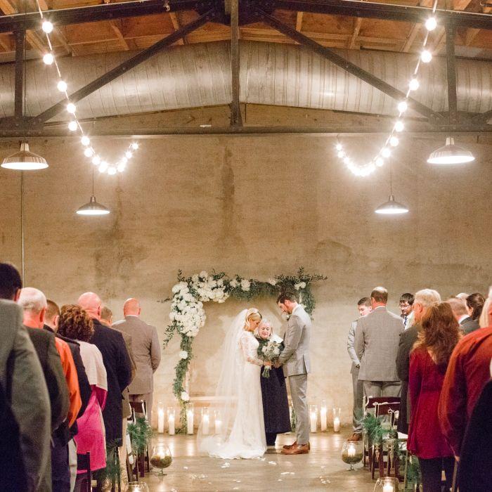 6 meaningful secular wedding ceremony ideas weddingwire indoor wedding ceremony junglespirit Gallery