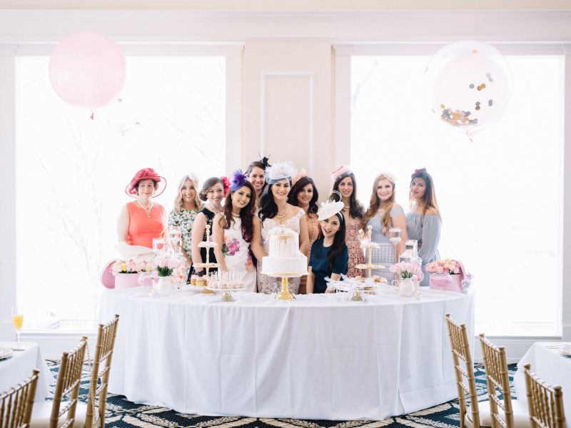 How To Throw A Bridal Shower That's Seriously Glam