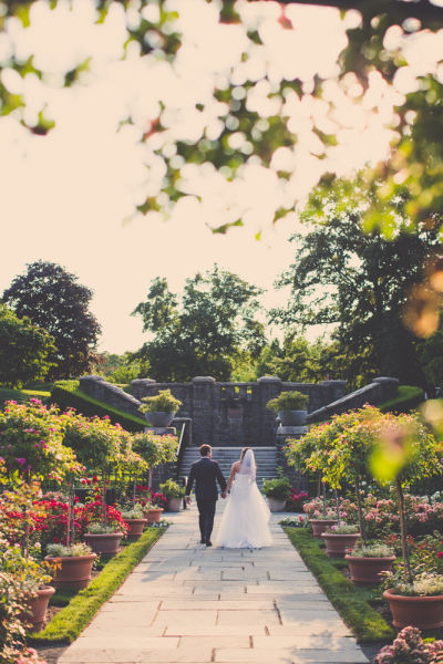 10 outdoor wedding venues in new york city weddingwire - New york botanical garden wedding ...