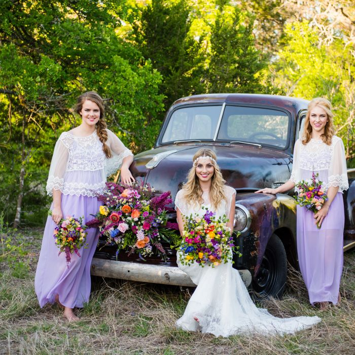 Bohemian Wedding Reception: Bohemian Glam California Desert Styled Shoot