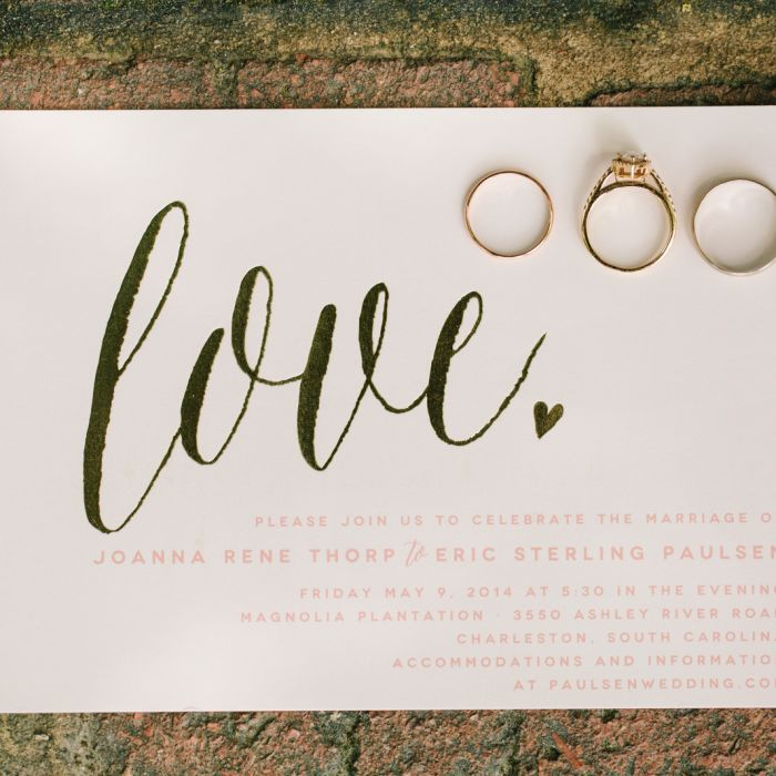 Trending Wedding Invitations: The Wedding Invitation Trends 2018 Couples Must See