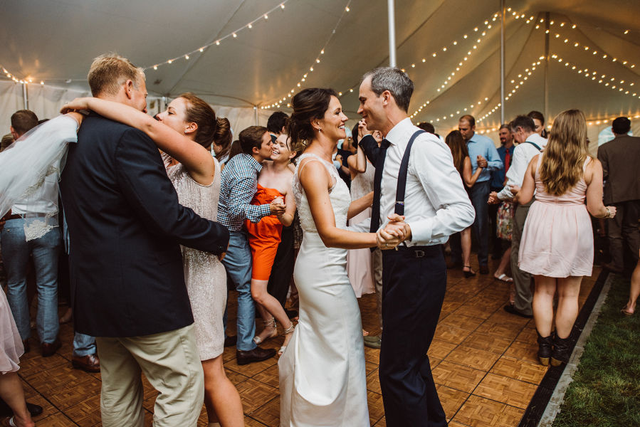 Couple On Dance Floor Aster Olive Photography
