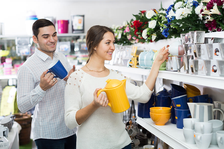The top 11 wedding registry mistakes weddingwire not mixing price points junglespirit Images