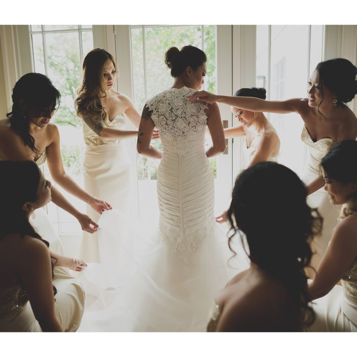 Whats your wedding dress personality weddingwire wedding attire junglespirit Gallery