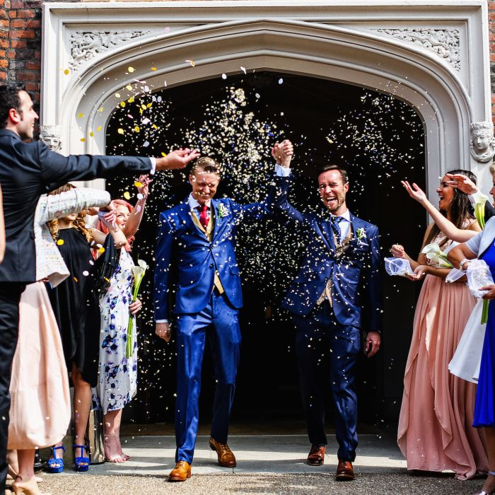 We Answer Your Awkward Same-Sex Wedding Questions