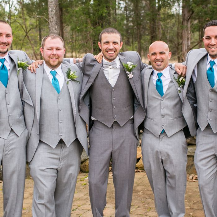 Groom Grey Suit | Wedding Ideas