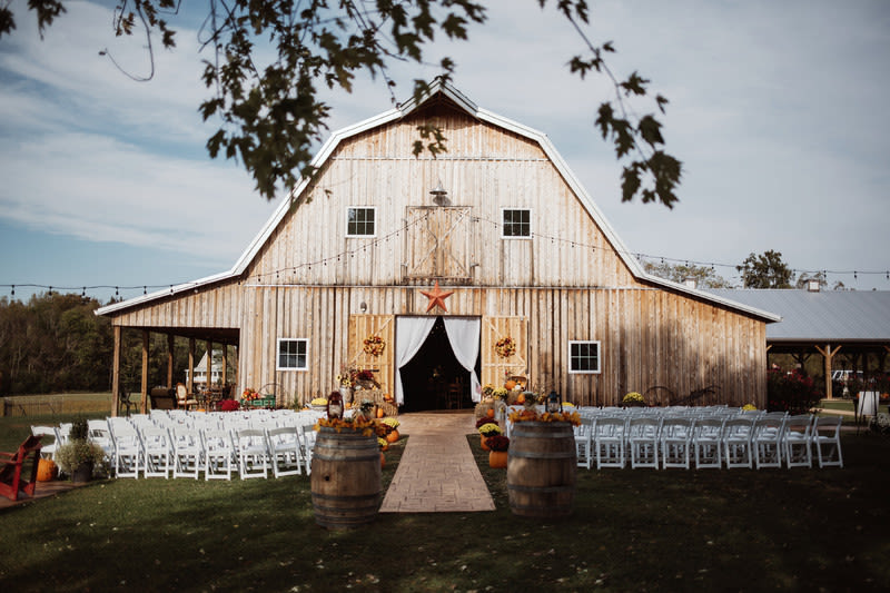 take a look at our very first editors picks to see our fave wedding venues with a rustic twist