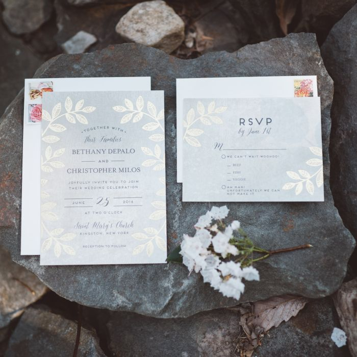 Info You Must Include On Your Wedding Invitations