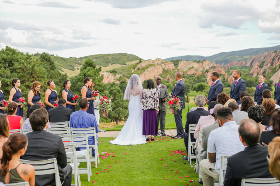 5 mountain wedding venues in denver with killer views for Wedding venue with a view