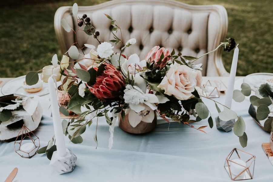 Marble copper other wedding trends to obsess over