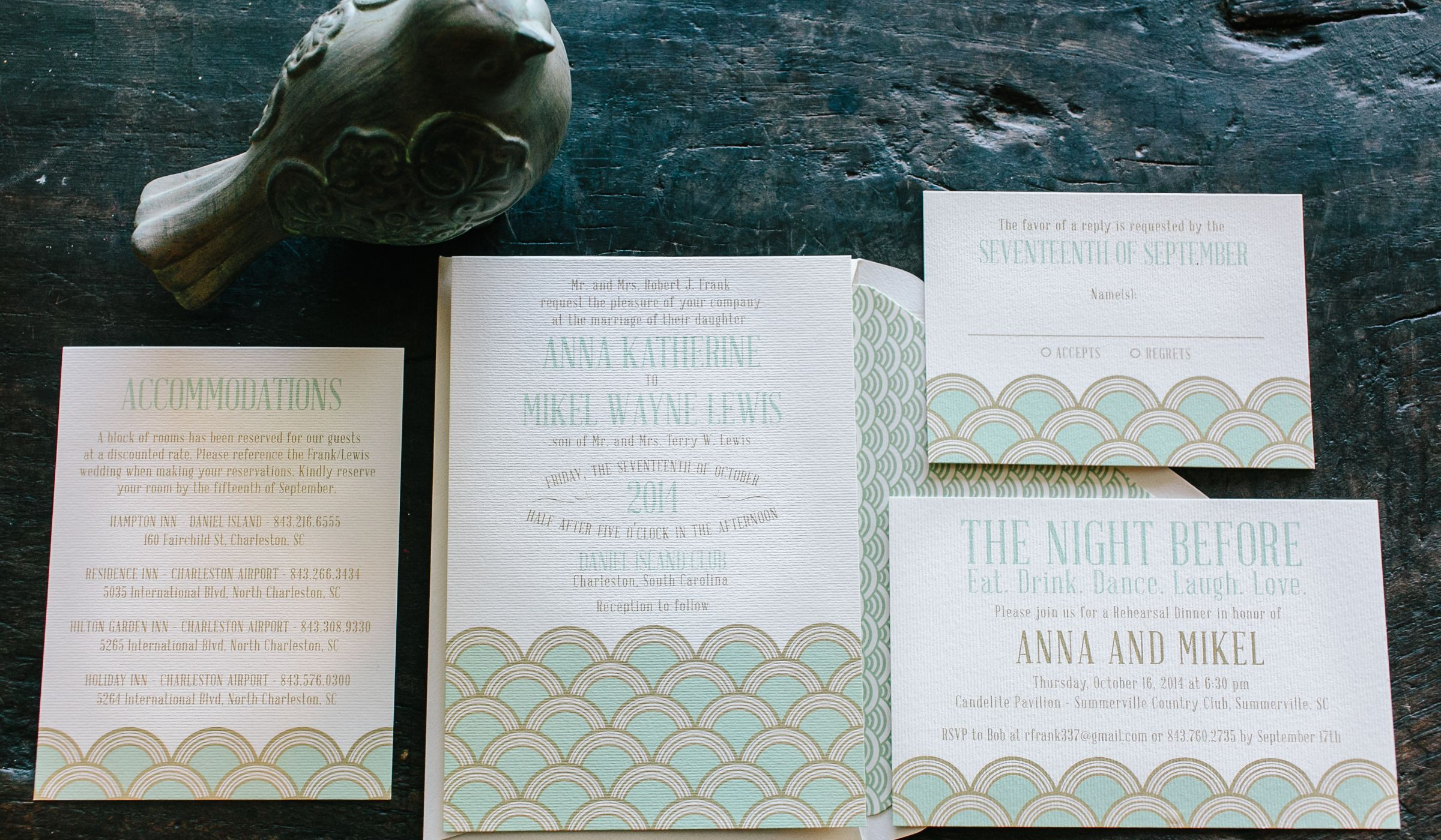 Wording Hotel Room Block Information on Wedding Invitations ...