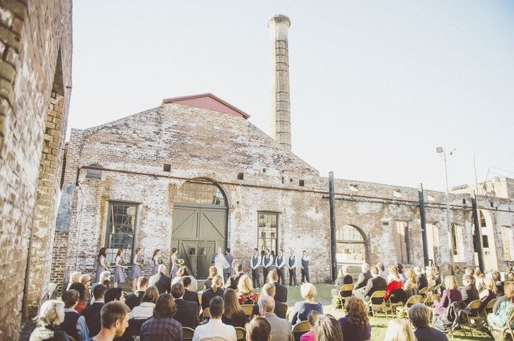 8 refurbished historic wedding venues in savannah weddingwire georgia state railroad museum savannah wedding venue junglespirit Image collections