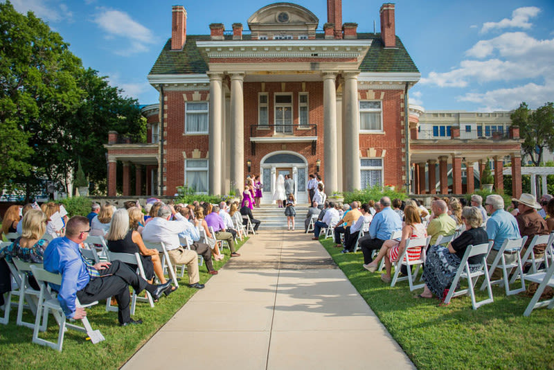 7 chic museum wedding venues in dallas fort worth tx weddingwire photo thistle hill junglespirit Gallery