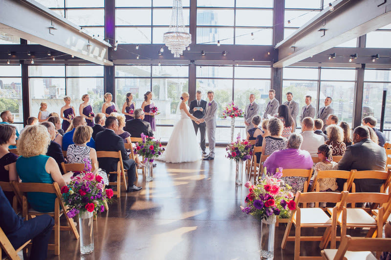 13 downtown nashville wedding venues for every couple weddingwire the bridge building event space junglespirit Gallery