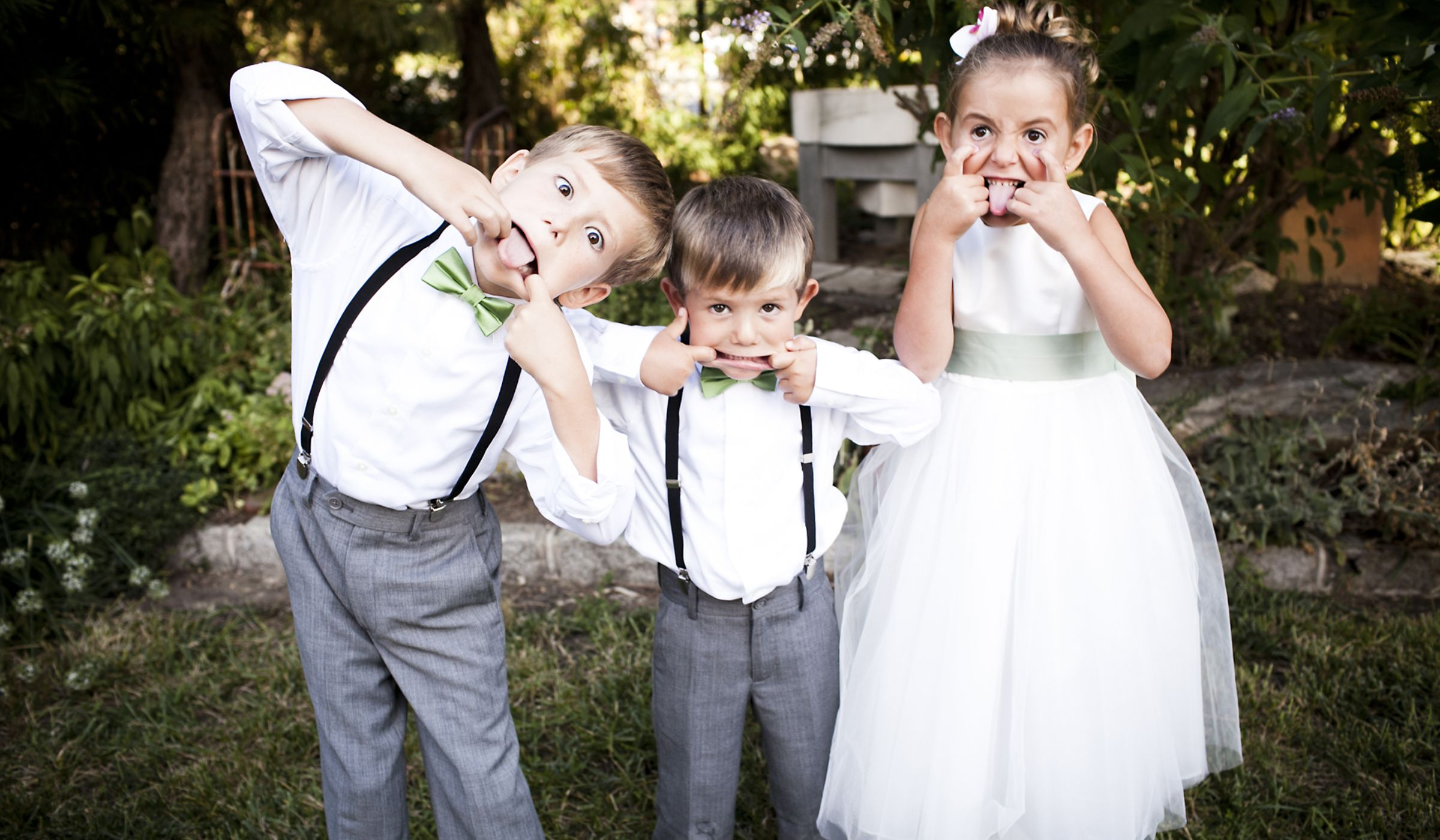 Kids And Weddings: Etiquette Questions, Answered