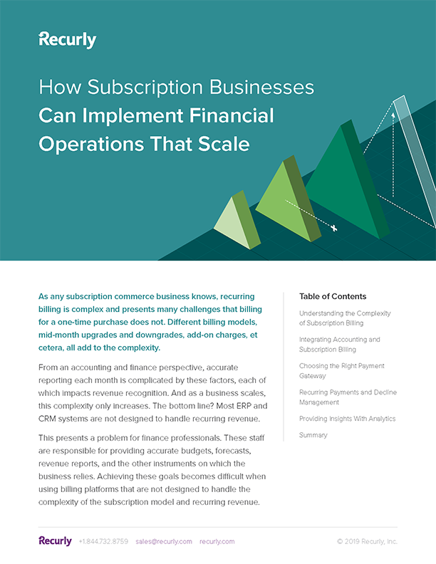 Operations that Scale