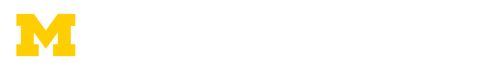 University of Michigan Logotipo