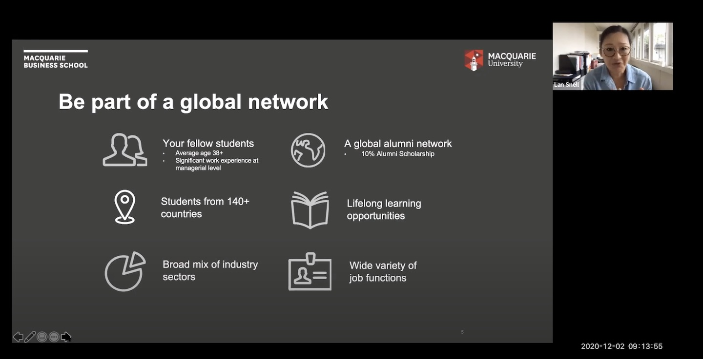 Global MBA Information Webinar with Students