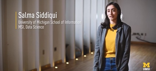 University Program - Testimonial  - Salma Siddiqui