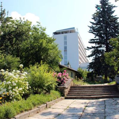 Санаторий Тарханы - территория здравницы