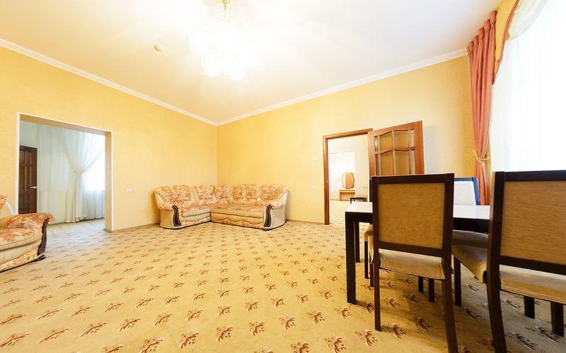 Номер апартаменты в санатории Кавказ