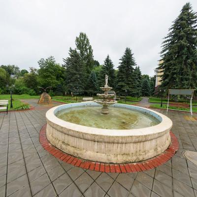 Санаторий Кавказ Кисловодск Фонтан