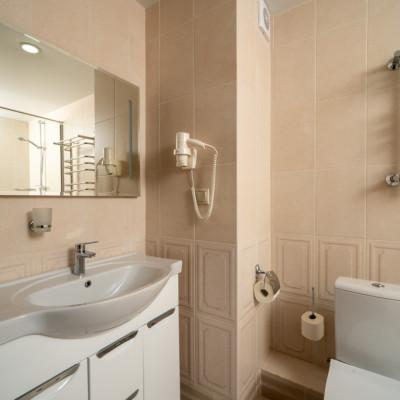 Номер Люкс в санатории Минеральные Воды - ванная комната