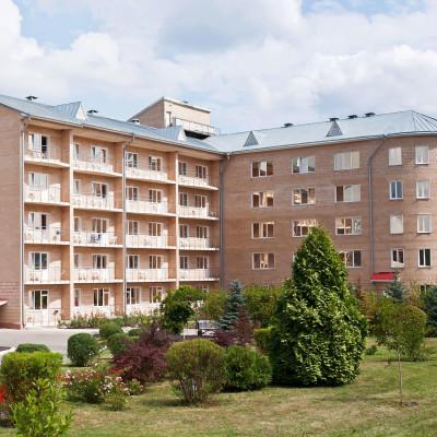 Санаторий Машук Аква-Терм Железноводск, здание здравницы