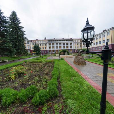 Санаторий Кавказ Кисловодск Территория