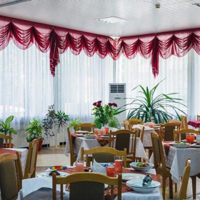 Санаторий Руно обеденный зал