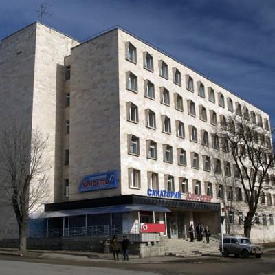 Санаторий Юность Ессентуки территория