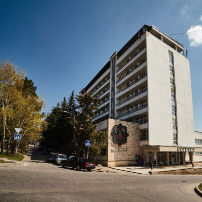 Санаторий Тарханы Пятигорск - территория