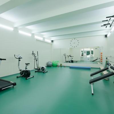 Тренажерный зал в санатории им. Павлова