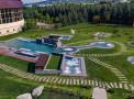 Итальянские Термы в санатории Машук Аква-Терм, бассейны на открытом воздухе