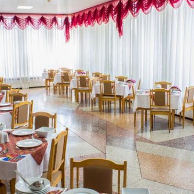 Санаторий Руно зал для приема пищи