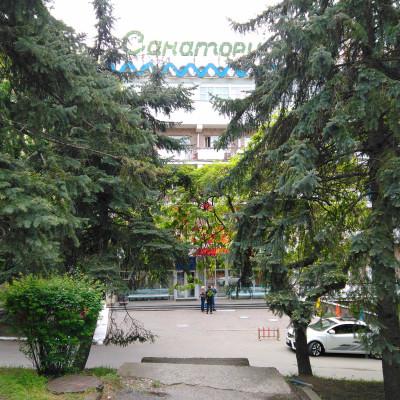 Санаторий Дон Пятигорск вход в главное здание