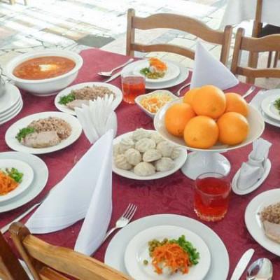 Санаторий Тарханы - питание в здравнице