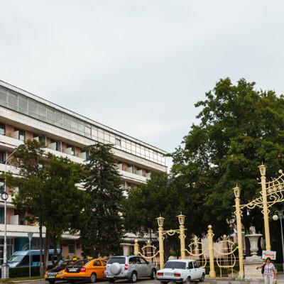 Санаторий Руно Пятигорск - вход