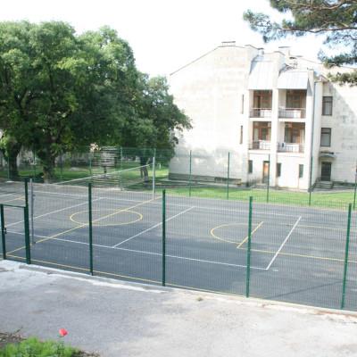 Баскетбольная площадка в санатории Им. Ломоносова