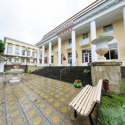 Санаторий Кавказ Кисловодск Вход